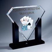 Trophée couleur diamant